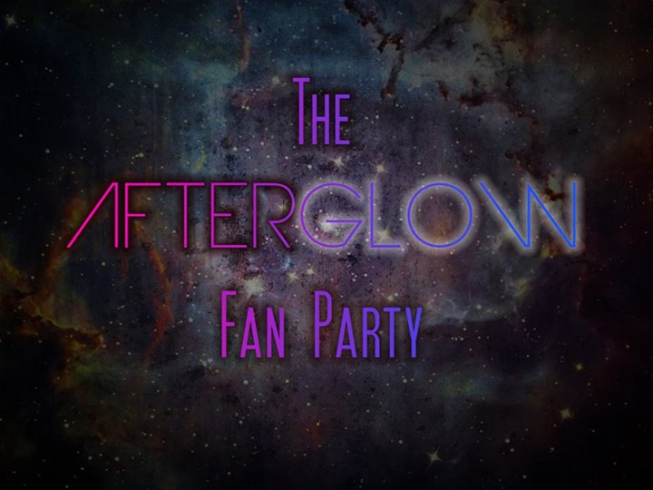 AfterGLOW Fan Party logo
